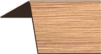 Уголок отделочный Rico Moulding 124 Дуб Янтарный с тиснением (40x40x2700) -