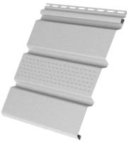 Софит для крыши Vox SV-07 с перфорацией (белый) -