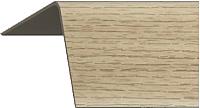 Уголок отделочный Rico Moulding 155 Бук Натуральный с тиснением (40x40x2700) -