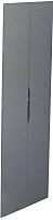 Двери шкафа для кровати-чердака Polini Kids Simple (серый) -