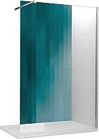 Душевая стенка Roltechnik SaniPro Walk Pro/100 (хром/прозрачное) -