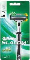 Бритвенный станок Gillette Slalom с 1 сменной кассетой -
