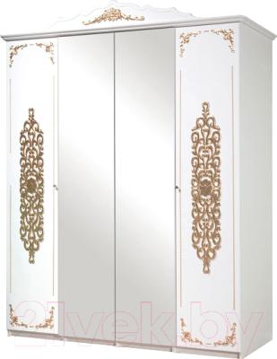 рекомендую шкаф мебель кмк 4д искушение 04021 белыйзолото