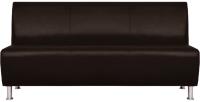 Диван Brioli Руди трехместный (L13/коричневый) -