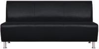 Диван Brioli Руди трехместный (L22/черный) -