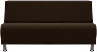 Диван Brioli Руди трехместны (J5/коричневый) -