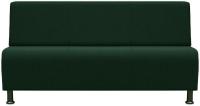 Диван Brioli Руди трехместный (J8/темно-зеленый) -