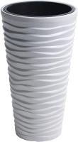 Кашпо Prosperplast Sand Slim 400 / DPSA400-S449 (белый) -