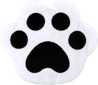 Игрушка-грелка детская Мякиши Лапа / 636 (белый/черный) -