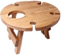 Винный столик-сувенир Лида-Балтия 4 (ореховый) -