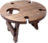 Винный столик-сувенир Лида-Балтия 4 (эбеновое дерево) -