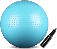 Гимнастический мяч Indigo Anti-Burst IN003 (65 см, бирюзовый) -