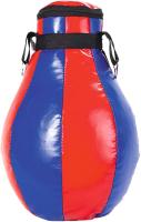 Боксерская груша Спортивные мастерские SM-230 (12кг, синий/красный) -