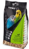 Корм для птиц TiTBiT Classic для волнистых попугаев / 6153 (500г) -