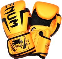 Боксерские перчатки No Brand ZTQ-116-8 (оранжевый) -