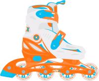 Роликовые коньки Ridex Cricket (р-р 31-34, оранжевый) -