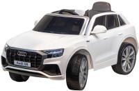 Детский автомобиль Farfello Audi Q8 / S890 (экокожа, белый) -