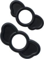 Набор эрекционных колец Sexus Men Elephant Rings / 709032 (черный) -