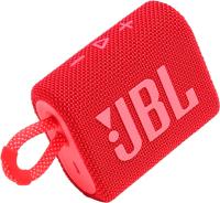 Портативная колонка JBL Go 3 (красный) -