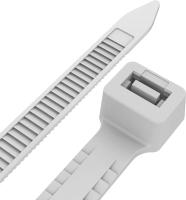 Стяжка для кабеля Rexant 67-0200-5 (100шт, белый) -