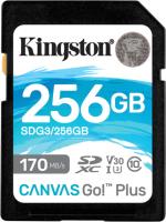 Карта памяти Kingston Canvas Go Plus SDXC (Class10) 256GB (SDG3/256GB) -