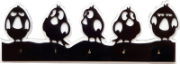 Ключница настенная Grifeldecor Angry Birds / BZ202-4B390 -