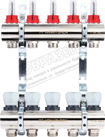 Коллекторная группа отопления Profactor PFMB800.4 -