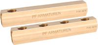 Коллектор отопления Profactor Односторонний PFMF259.6 -