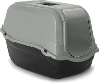 Туалет-домик Beeztees Ромео ЭКО / 400530 (серый) -