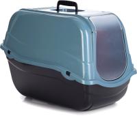 Туалет-домик Beeztees Ромео ЭКО / 400531 (синий) -