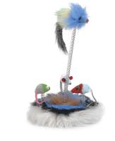Игрушка для кошек Beeztees Семейство мышей с кошачьей мятой / 425470 -