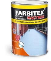 Гидроизоляционная мастика Farbitex Резиновая (17кг) -