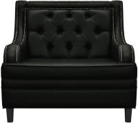 Кресло мягкое Brioli Чикаго (L22/черный) -