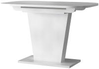 Обеденный стол Eligard Sheldon 118(157)х72х76 (белый структурный) -