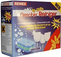 Таблетки для посудомоечных машин Reinex Geschirr-Reiniger UltraTabs: 2 в 1 (40шт) -