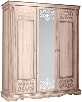 Шкаф Мебель-КМК 3Д Амелия 0435.10 (дуб молочный) -