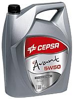 Моторное масло Cepsa Avant 5W50 Synt / 512673601 (4л) -