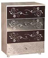 Комод Мебель-КМК 4Я Магия 0363.11 (дуб шамони/орех шоколад) -