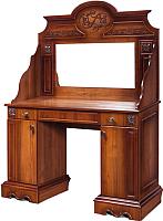 Туалетный столик с зеркалом Мебель-КМК Амелия 0435.16 (орех экко) -