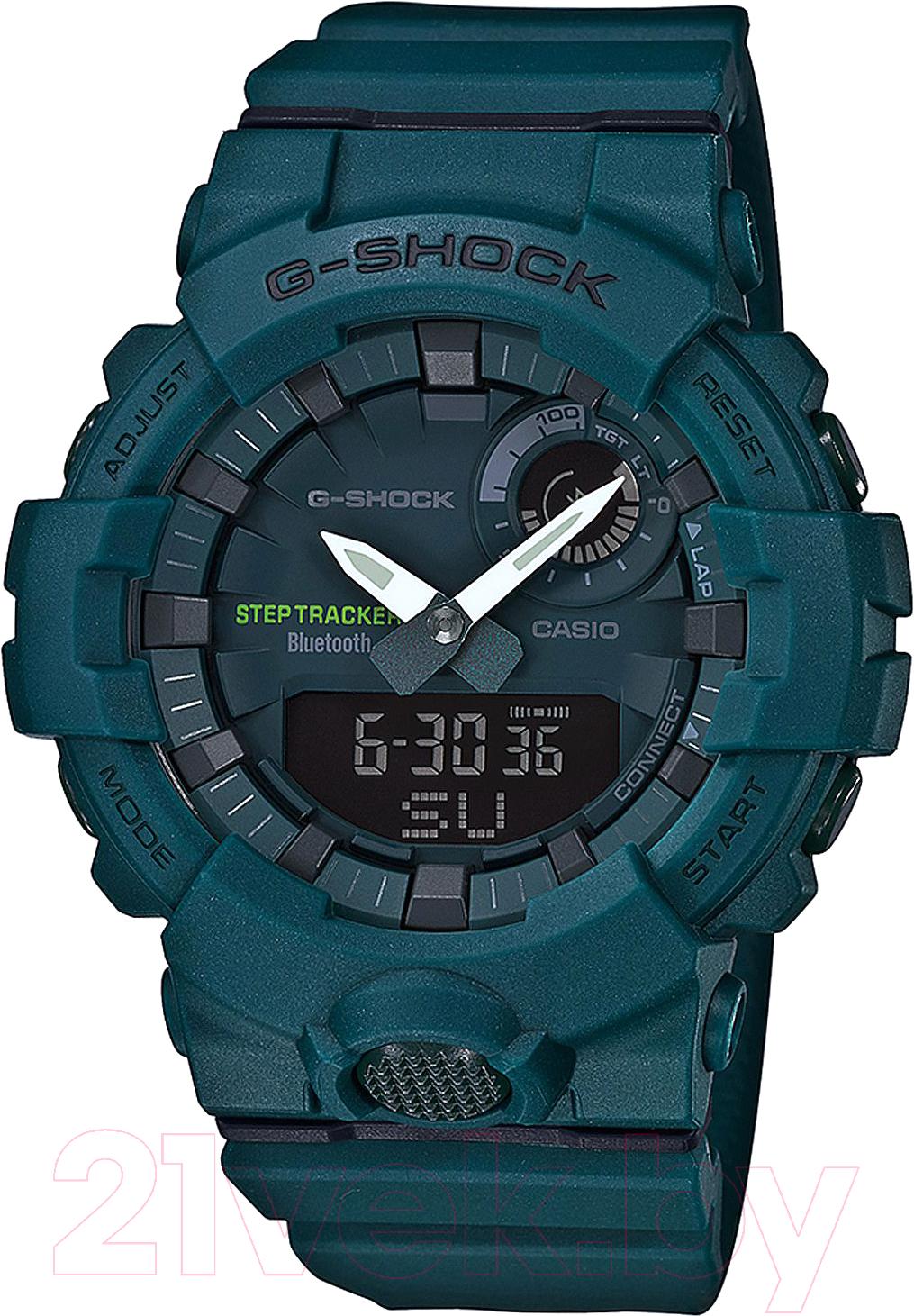 Купить Часы наручные мужские Casio, GBA-800-3AER, Китай
