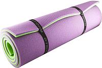 Туристический коврик Atemi 1800x600x12мм (зеленый/фиолетовый) -