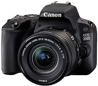 Зеркальный фотоаппарат Canon EOS 200D Kit 18-55mm IS STM / 2250C017AA (черный) -