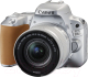 Зеркальный фотоаппарат Canon EOS 200D Kit 18-55mm IS STM / 2256C006AA (серебристый) -