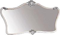 Зеркало интерьерное Мебель-КМК Багира 0465.8 (белый/серебро) -
