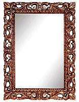 Зеркало интерьерное Мебель-КМК Багира 1 0465.9 (орех/золото) -
