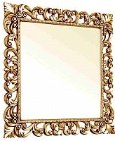 Зеркало Мебель-КМК Искушение 2 0459.8 (белый/золото) -