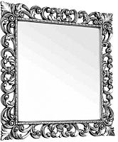 Зеркало Мебель-КМК Искушение 2 0459.8 (белый/серебристый) -