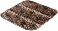 Многоразовая пеленка для животных DELIGHT 5353M-BR (53x53, коричневый) -