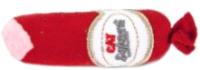 Игрушка для кошек Beeztees Салями / 430442 (красный) -