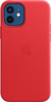 Чехол-накладка Apple Leather Case w/MagSafe для iPhone 12/12Pro (PRODUCT)RED / MHKD3 -
